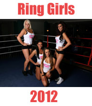 Boxing Ring Girls 2012 with Scunthorpe ABC