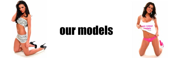 The glamour models at East Coast Models